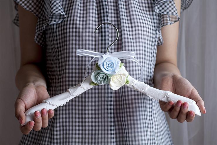 レザベイユさんで制作したデコレーションハンガー