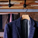 【20%OFF】おしゃれな黒い金具の木製ジャケット・コートハンガー