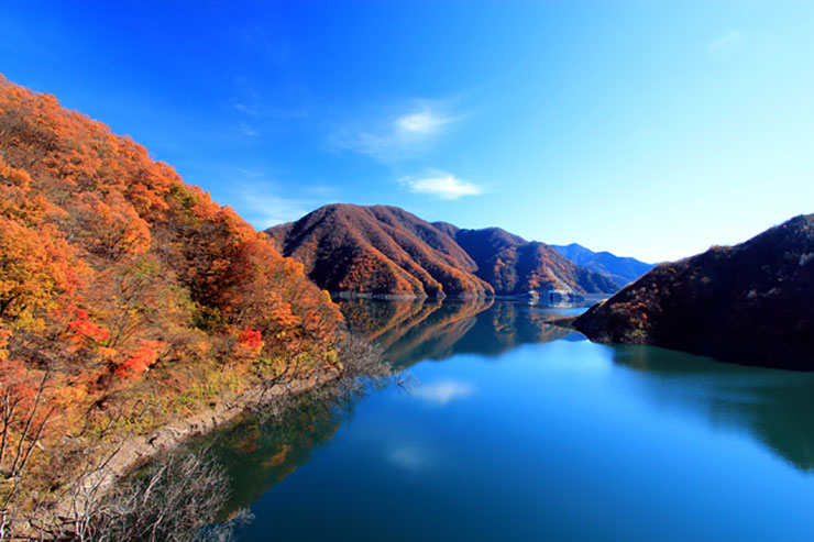 福井県・九頭竜湖
